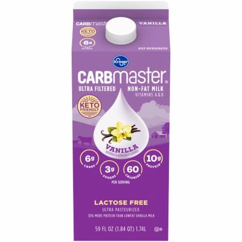 Kroger® CARBmaster® Ultra Filtered Non-Fat Vanilla Milk Perspective: front