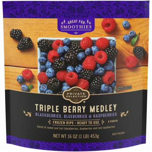 Private Selection® Triple Berry Medley Perspective: front