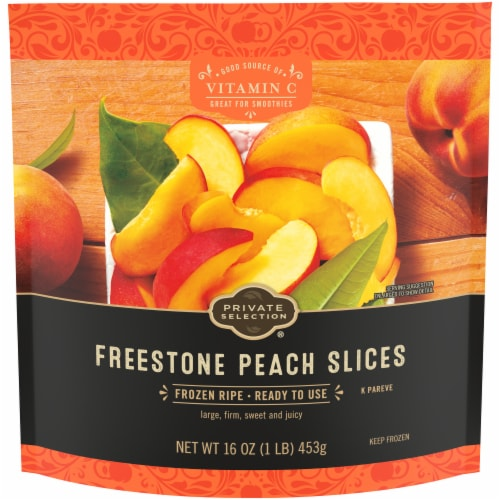 Private Selection® Freestone Peach Slices Perspective: front