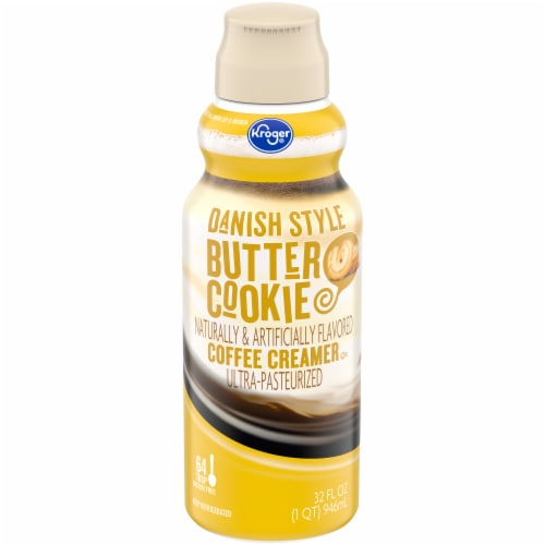 Kroger® Danish Style Butter Cookie Coffee Creamer Perspective: front