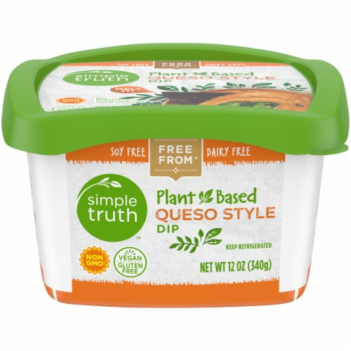 Simple Truth™ Plant-Based Queso Style Dip Perspective: front