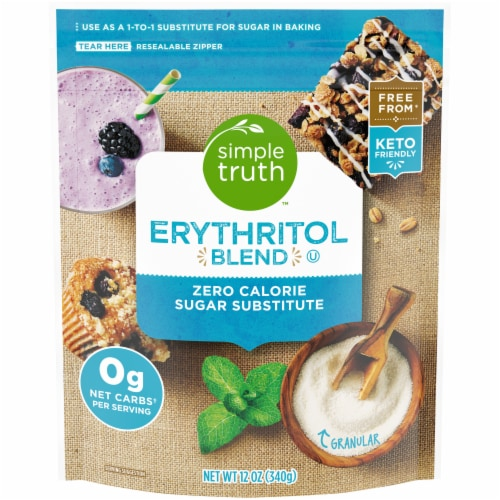 Simple Truth™ Erythritol Blend Zero Calorie Sugar Substitute Perspective: front