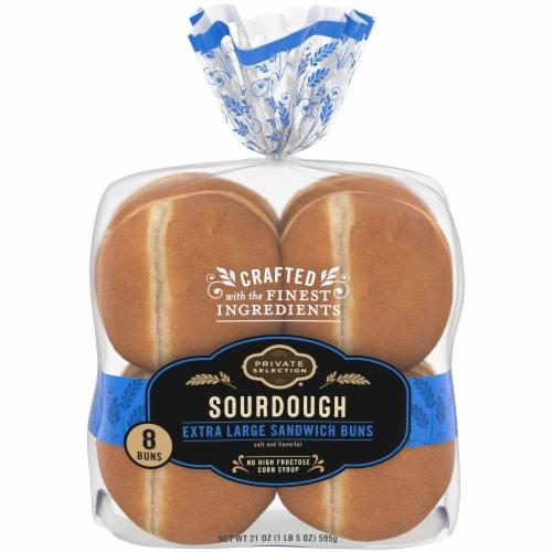 Private Selection® Sourdough Extra Large Sandwich Buns Perspective: front