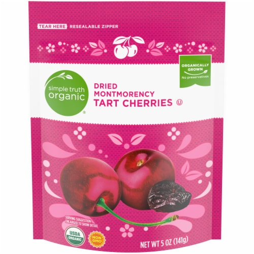 Simple Truth Organic® Dried Montmorency Tart Cherries Perspective: front