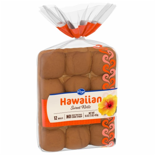 Kroger® Hawaiian Dinner Rolls Perspective: front