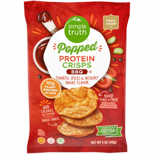 Simple Truth™ Popped BBQ Protein Crisps Perspective: front