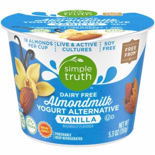 Simple Truth™ Vanilla Dairy Free Almondmilk Yogurt Perspective: front