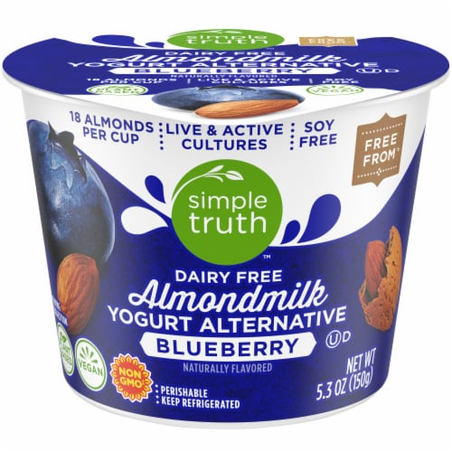 Simple Truth™ Dairy Free Blueberry Yogurt Alternative Perspective: front