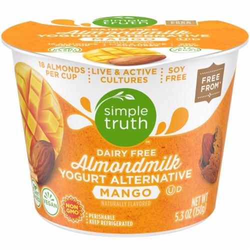 Simple Truth™ Dairy Free Mango Almondmilk Yogurt Alternative Perspective: front