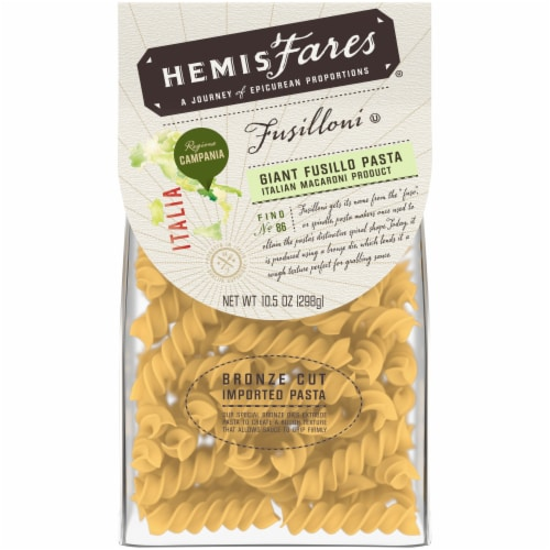 HemisFares Giant Fussilo Pasta Perspective: front