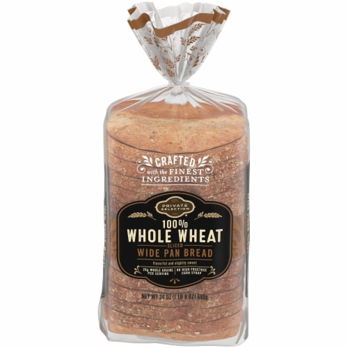Private Selection™ 100% Whole Wheat Bread Perspective: front