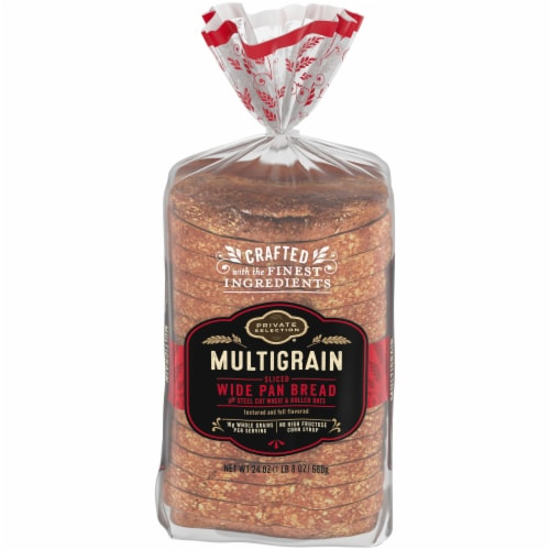 Private Selection® Multigrain Wide Pan Bread Perspective: front