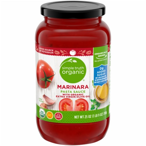 Simple Truth Organic™ Marinara Pasta Sauce Perspective: front