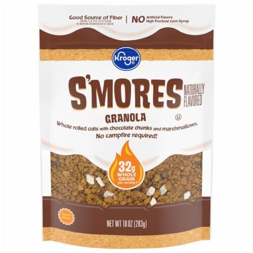 Kroger® S'mores Granola Clusters Perspective: front