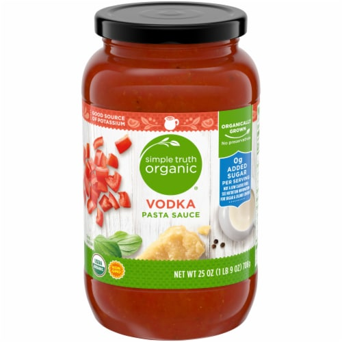 Simple Truth Organic® Vodka Pasta Sauce Perspective: front