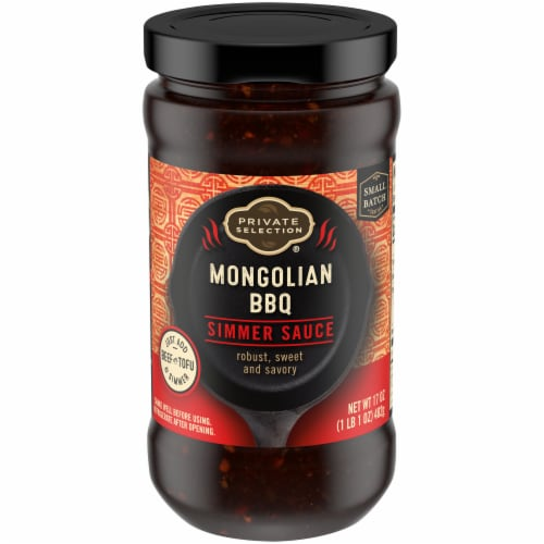 Private Selection® Mongolian BBQ Simmer Sauce Perspective: front