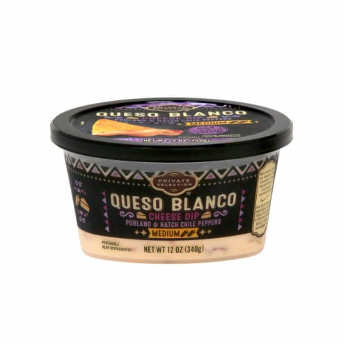 Private Selection® Medium Queso Blanco Cheese Dip Perspective: front