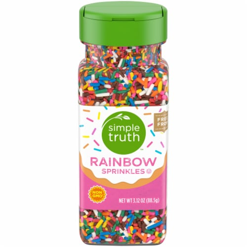 Simple Truth™ Rainbow Sprinkles Shaker Perspective: front