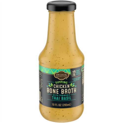 Private Selection™ Chicken Thai Basil Bone Broth Perspective: front