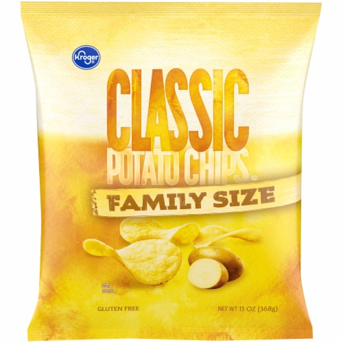 Kroger® Classic Potato Chips Perspective: front