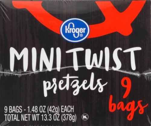 Kroger®  Mini Twist Pretzels Multipack Perspective: front