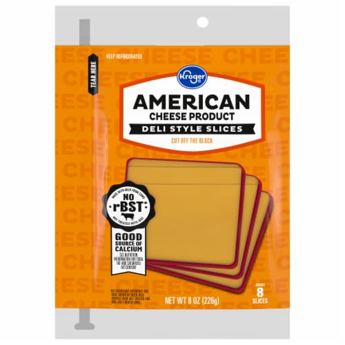 Kroger® American Cheese Product Slices Perspective: front