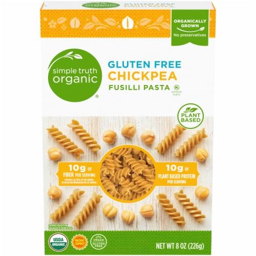 Simple Truth Organic® Gluten Free Chickpea Fusilla Pasta Perspective: front