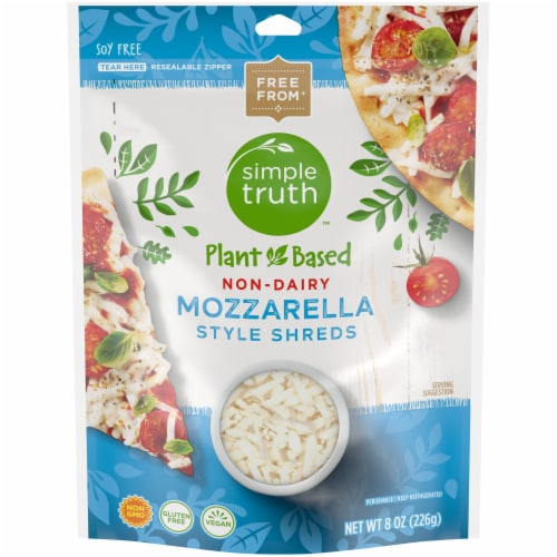 Simple Truth™ Plant Based Non-Dairy Mozzarella Style Shreds Perspective: front