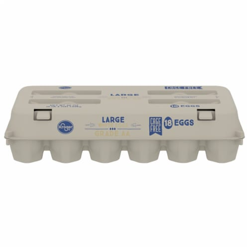 Kroger® Cage Free Grade AA Large Eggs Perspective: front