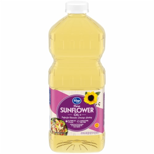 Kroger® Pure Sunflower Oil Perspective: front