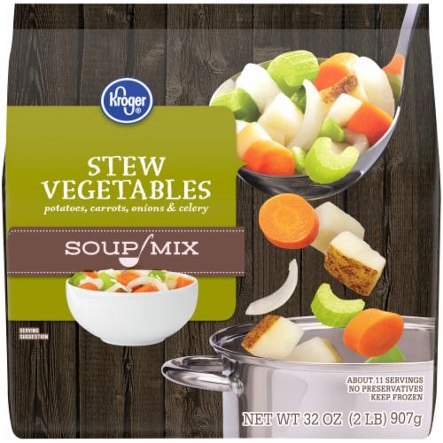 Kroger® Soup Mix Stew Vegetables Perspective: front