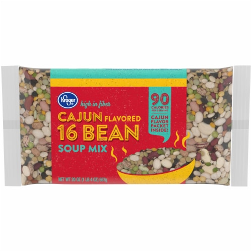 Kroger® Cajun Flavored 16 Bean Soup Mix Perspective: front