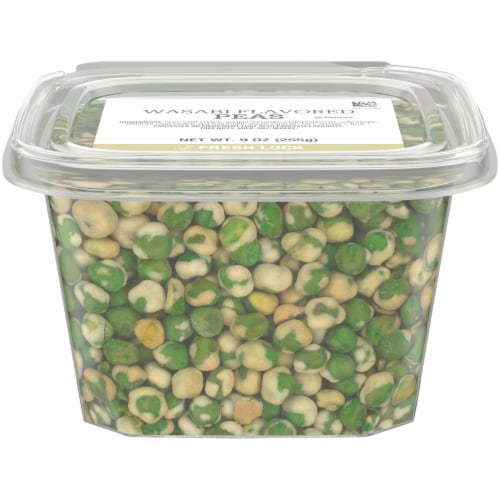 Kroger Wasabi Flavored Peas Snack Mix Perspective: front