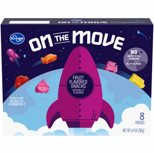 Kroger® Gluten Free On the Move Fruit Snacks Perspective: front