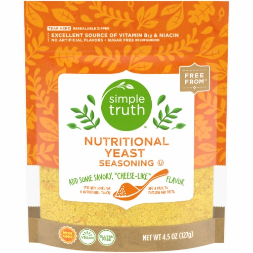 Simple Truth Nutritional Yeast Perspective: front