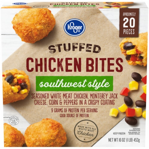 Kroger® Southwest Style Stuffed Chicken Bites Perspective: front