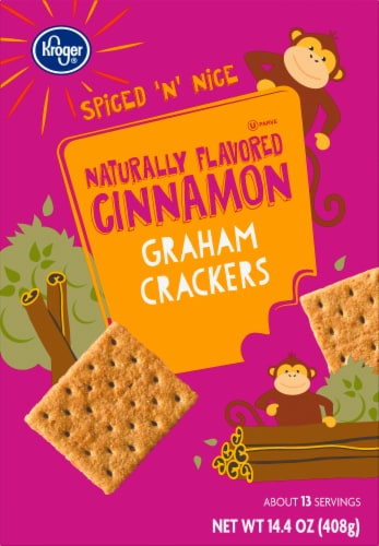 Kroger®  Cinnamon Graham Crackers Perspective: front