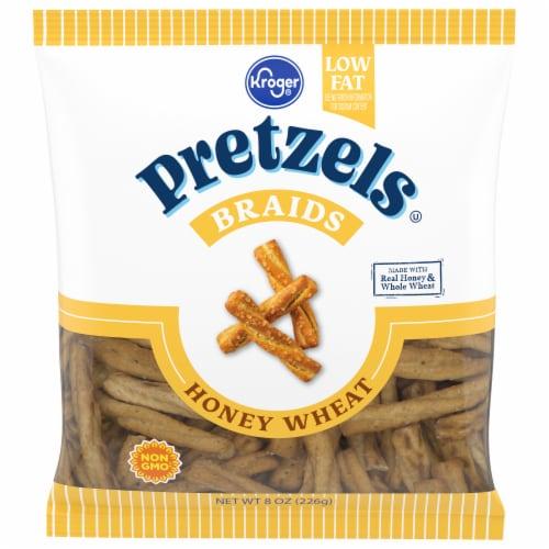 Kroger® Honey Wheat Braided Pretzel Perspective: front