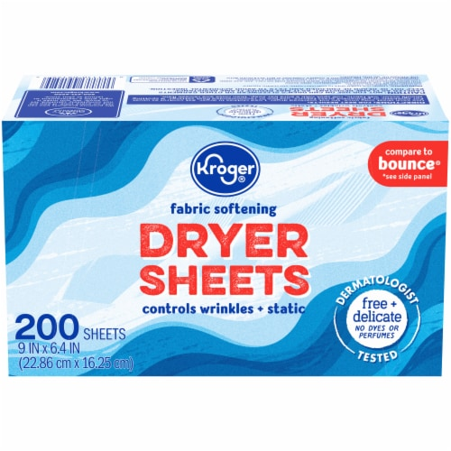 Kroger® Fabric Softening Dryer Sheets Perspective: front