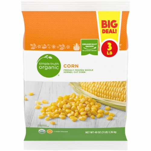 Simple Truth Organic® Frozen Whole Kernel Corn Perspective: front