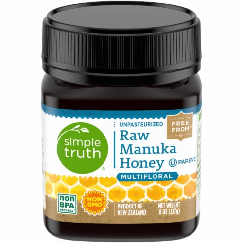 Simple Truth® Multifloral Raw Manuka Honey Perspective: front