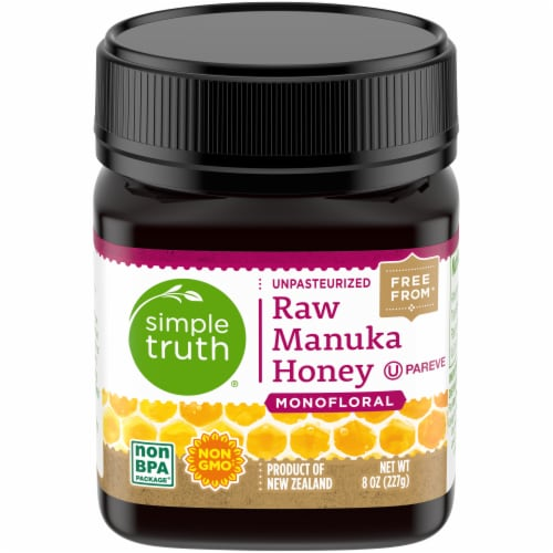 Simple Truth® Monofloral Raw Manuka Honey Perspective: front