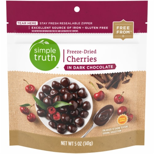 Simple Truth™ Freeze-Dried Cherry in Dark Chocolate Perspective: front
