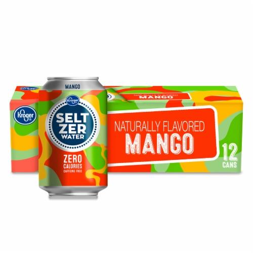 Kroger® Mango Seltzer Water Perspective: front