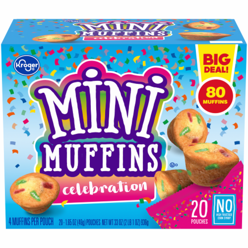 Kroger® Celebration Mini Muffins Perspective: front