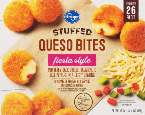 Kroger® Fiesta Style Stuffed Queso Bites Perspective: front