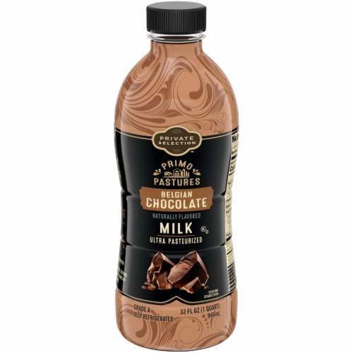 Private Selection™ Belgian Chocolate Ultra Pasteurized Milk Perspective: front