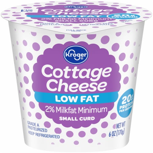 Kroger® Low Fat Cottage Cheese Perspective: front