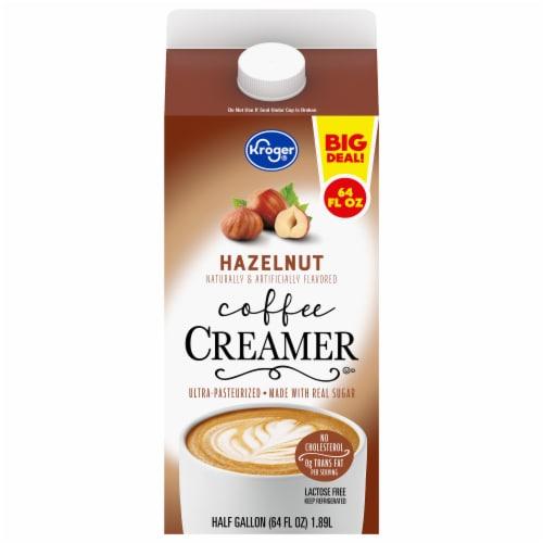 Kroger® Hazelnut Coffee Creamer Perspective: front