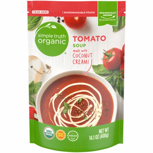 Simple Truth Organic™ Creamy Tomato Soup Perspective: front